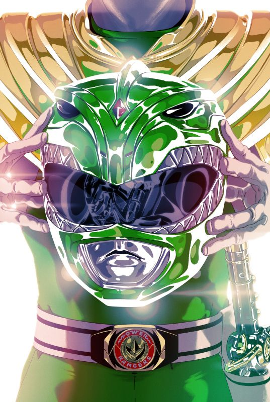 Goni Montes recently created a series of illustrations of the Mighty Morphin' Power Rangers for BOOM! Studios. Check out the full set here: