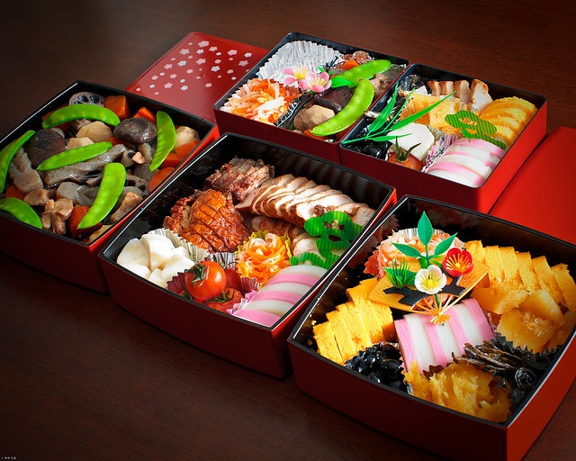 Osechi お節 Japanese cuisine for New Year
