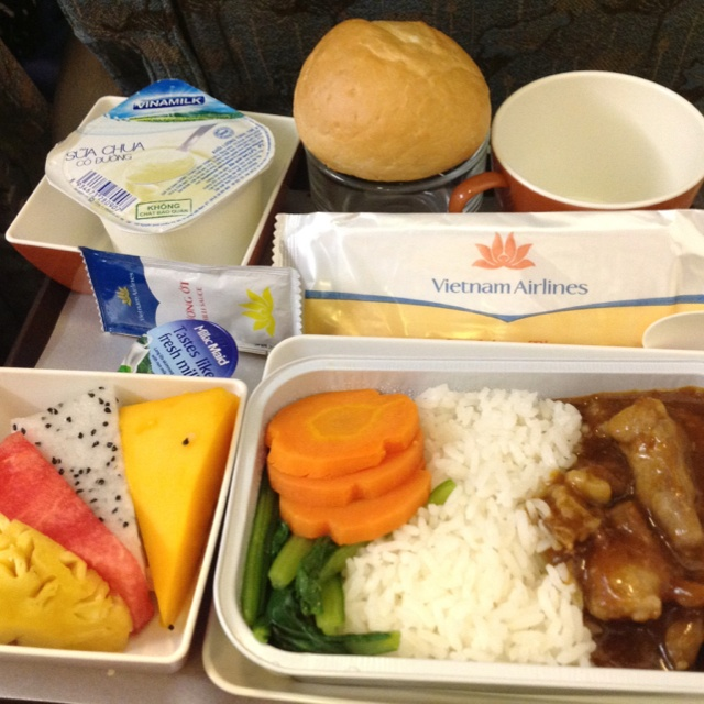 Vietnam Airlines Tastey meal!