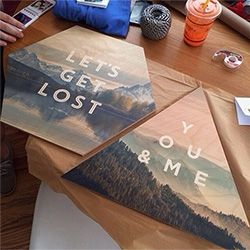 Let's Get Lost - You & Me - a peek at What We Do Copenhagen's wooden Faunascapes up close!