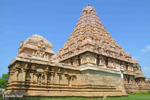 Brihideeshwara Temple at Gangaikondacholapuram - Living Chola Temples - A UNESCO World heritage site