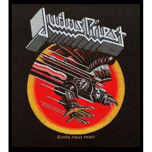 Judas Priest- Screaming For Vengeance Woven Patch (ep766)