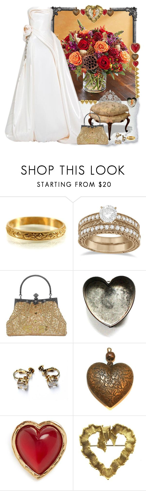 """Autumn wedding"" by fashionrushs ❤ liked on Polyvore featuring Rubin Singer, Allurez, Sonia Rykiel and Tiffany & Co."