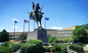 D&R   Groupon - Admission Package for Two or Four at Pro Rodeo Hall of Fame and Museum of the American Cowboy (Up to 50% Off) in Colorado Springs. Groupon deal price: $9