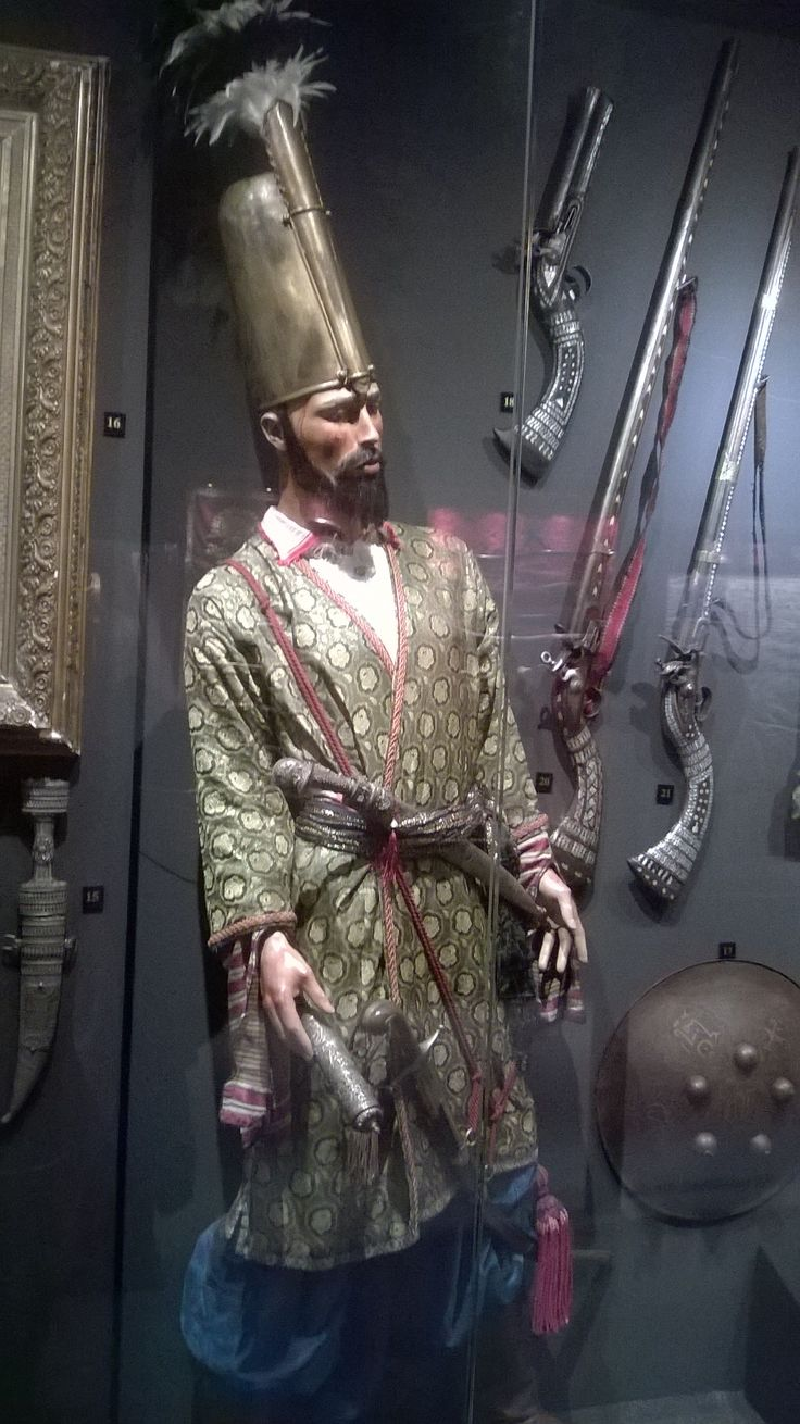 Ottoman Janissary from the Hisart museum.                                                                                                                                                     More