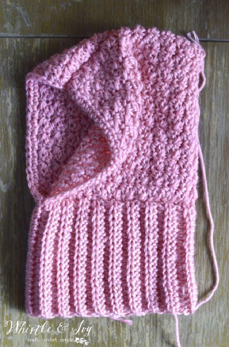 Crochet Baby Hooded Cowl