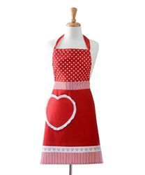 Christmas Gift Ideas - Aprons»Apron Adults Love Hearts - Chef's Complements
