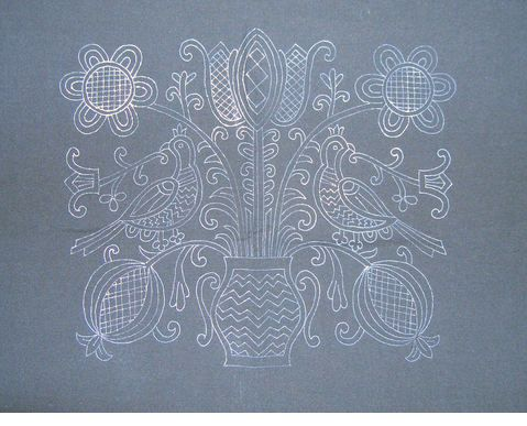 hungarian? embroidery pattern