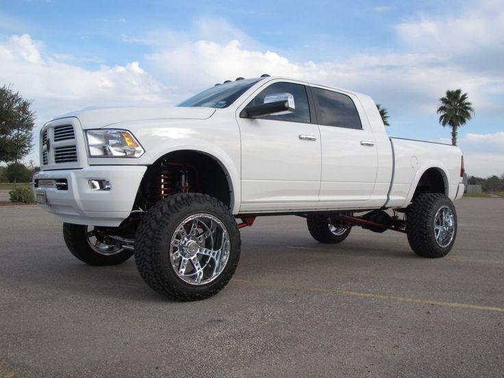 lifted jacked dodge ram 2500 | Dodge Ram Lifted Trucks ...