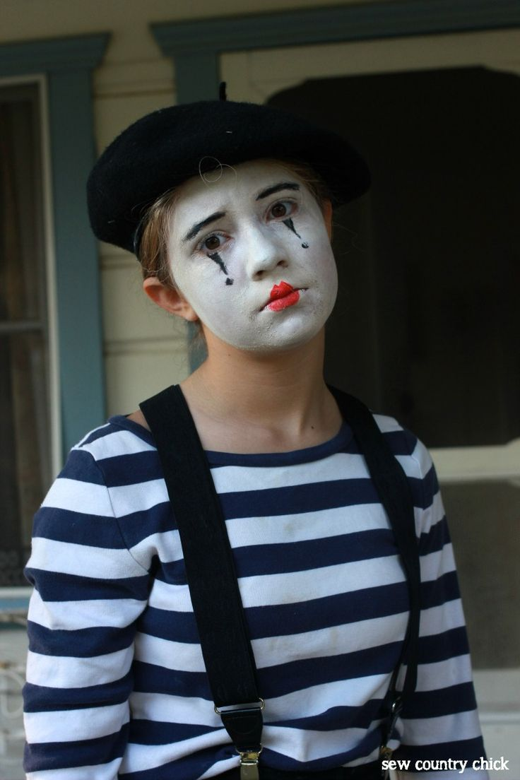 35 best mime images on Pinterest | Mime costume, Circus costume ...