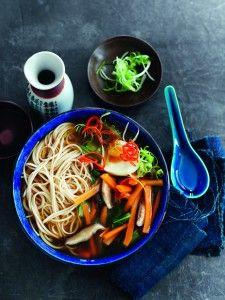 slimming world vegetable ramen noodle bowl. slimming world a taste of asia cookbook.