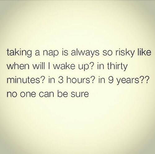 Taking a nap quote