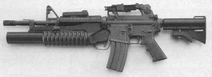 Fusil d'assaut - M16 723 M203