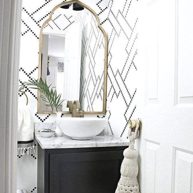 31 mentions J'aime, 1 commentaires - @belvederebath sur Instagram : « Eye spy a pretty cool bathroom feature wall who else loves this look? • • • • #vanities… »