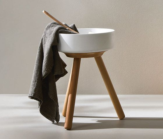 Vanity units | Wash basins | Fonte Stool with basin | Rexa Design ... Check it out on Architonic