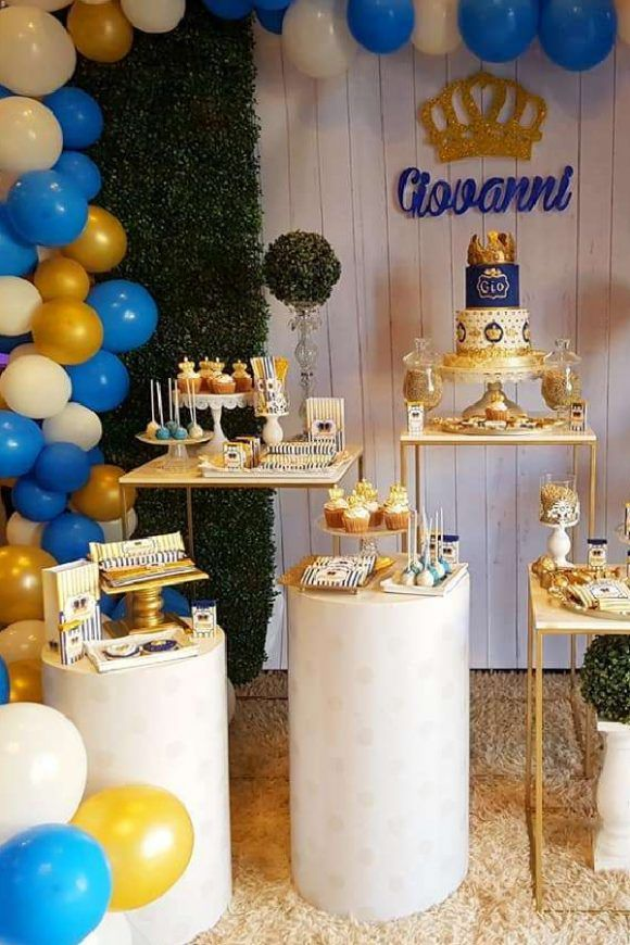 Your Little Boy Deserves Nothing Less Than A 1st Birthday Party Fit For A Prince So How Ab In 2021 1st Birthday Party Themes 1st Boy Birthday Birthday Themes For Boys