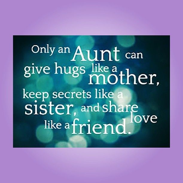 aunt and nephew relationship quotes