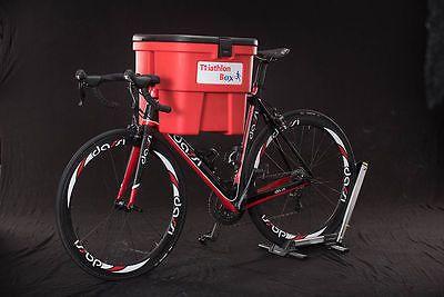 #Triathlon box - orange & grey - new - secure triathlon #storage unit bag #brick,  View more on the LINK: http://www.zeppy.io/product/gb/2/172507737242/