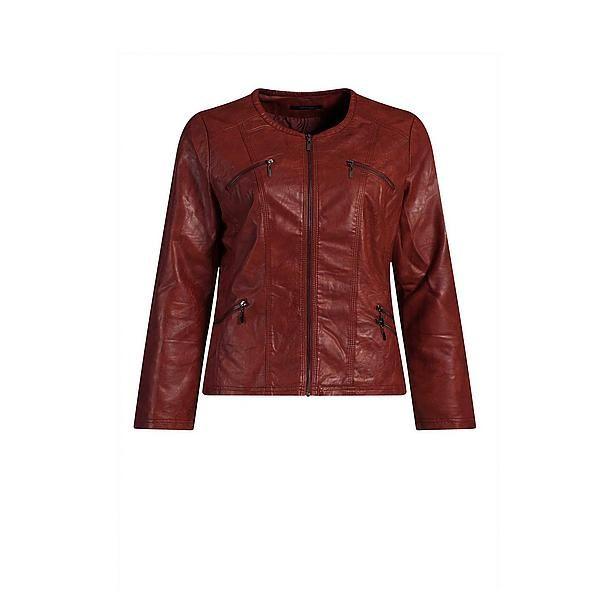 En dan dit jasje over die retro-shirtjes - met een grote paarse sjaal, of een retro paars/rood/oranje granny sjaal. Leuk!