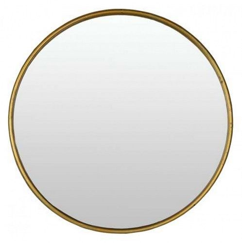 Metal Drum Mirror Large $159.95