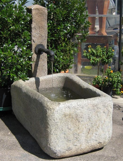 15 must-see gartenbrunnen stein pins | steinbrunnen garten, Hause und Garten