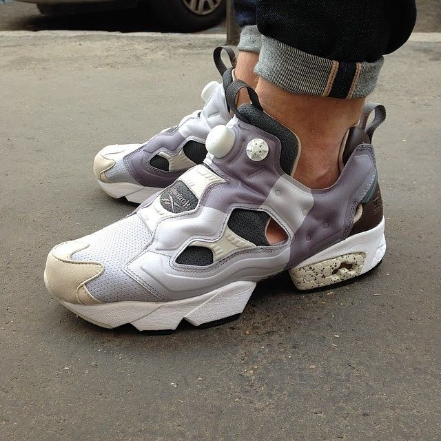 reebok pump running shoes instructions