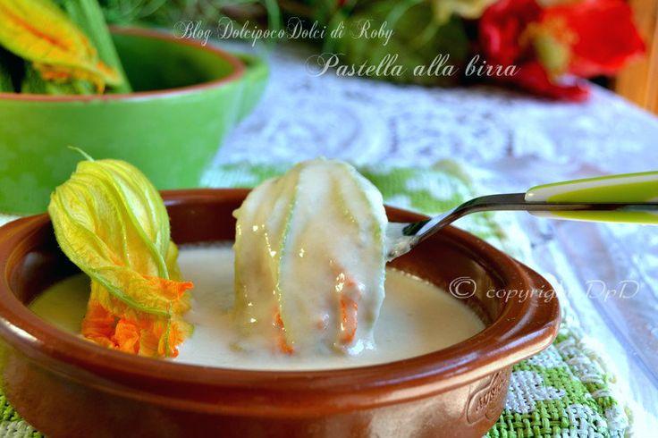 Pastella alla birra per fiori di zucca zucchina verdure ortaggi !! Corposa, densa e perfetta per fiori fritti gustosissimi!!!  QUi la Ricetta http://blog.giallozafferano.it/dolcipocodolci/pastella-alla-birra-per-fiori-di-zucca/