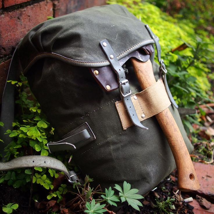 Wynnchester Reconditioned Norwegian Army Day Pack