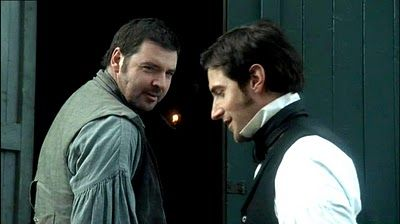 Mr. Higgins & Mr. Thornton. I loved their relationship both in the book and in the miniseries.