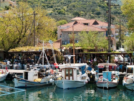 Skala Sikamenias Mitilini Greece