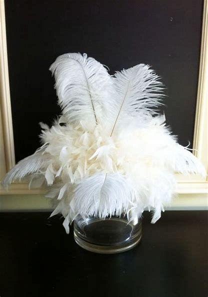 Best 25 Ostrich Feather Centerpieces Ideas On Pinterest
