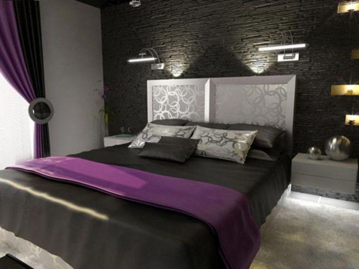 Best 25+ Purple black bedroom ideas on Pinterest   Bedroom ...