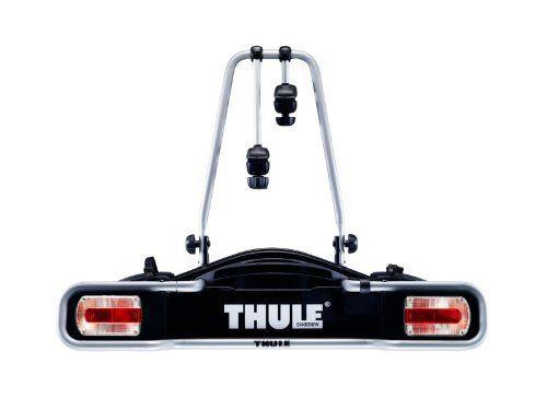 Thule Euroride941 Porte vélo attache remorque 2 bikes 7 Pin Update: Bras de fixation de cadre amovibles avec molette de serrage AcuTight…
