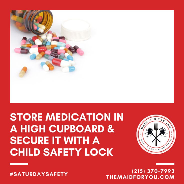 SaturdaySafety Is your medicine and health care products