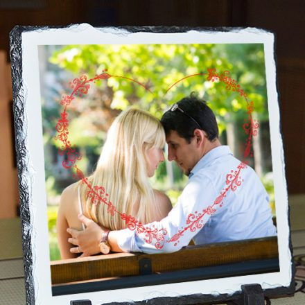 Valentin napi kőtábla- piros szíves. Nézz körül webshopunkban, válassz egyedi ajándékaink közül!
