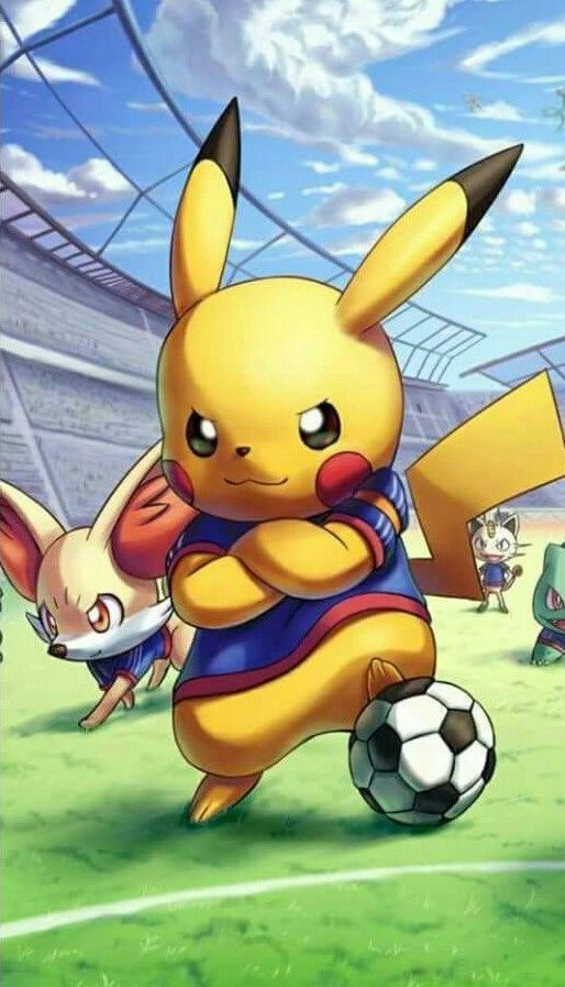 Pokémon dans un match de football – #dans #footba…