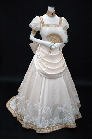 real Oscar's ball dress - Versailles o bara