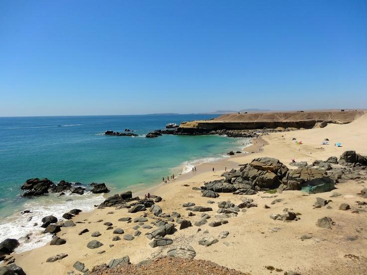 Playa Las Ágatas, Región de Atacama. Foto de María Angélica López Ortiz.