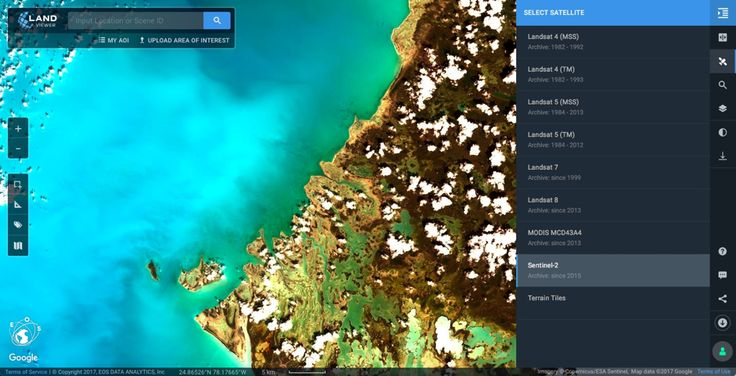 Tweet Share on Facebook Share Share Email Pin Pocket Flipboard LandViewer is a powerful satellite data processing and analytics platforms. It allows youto select a geographic area for analysis, choose various types of remote sensing data and do all sorts of analytics on-the-fly. I reviewed LandViewer afew months ago, and it was very impressive. With …