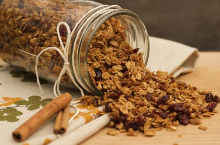 Pure & Simple Homemade Granola...Easy-peasy and would make great Christmas/hostess gifts!