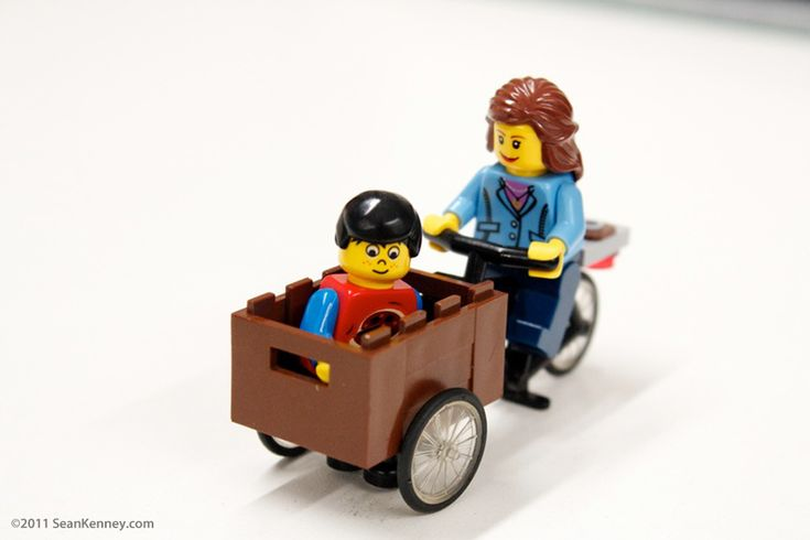 Lego Cargo Bike: Sean Kenney - Art with LEGO bricks : Christiania Bike