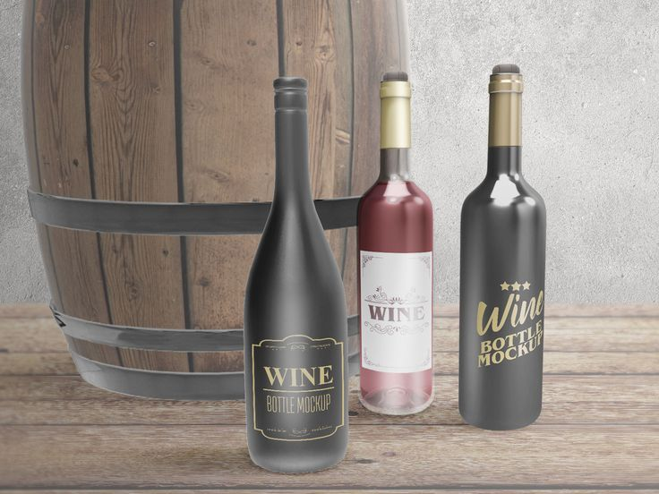 The next free PSD file to download is beverage packaging category, this is a free wine bottles mockup which consists os three kinds of a wine bottle that you can place your label design there. Easy customizable with separate adjustments, background and the mockup object itself, so you can change and put your own background and add another object easily. Go ahead and grab this mockup and feel free to contact me if you have some feedbacks.