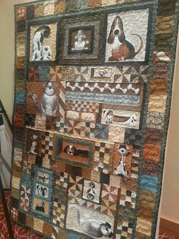 Quilt designed and quilted by Kristina Morrow using a