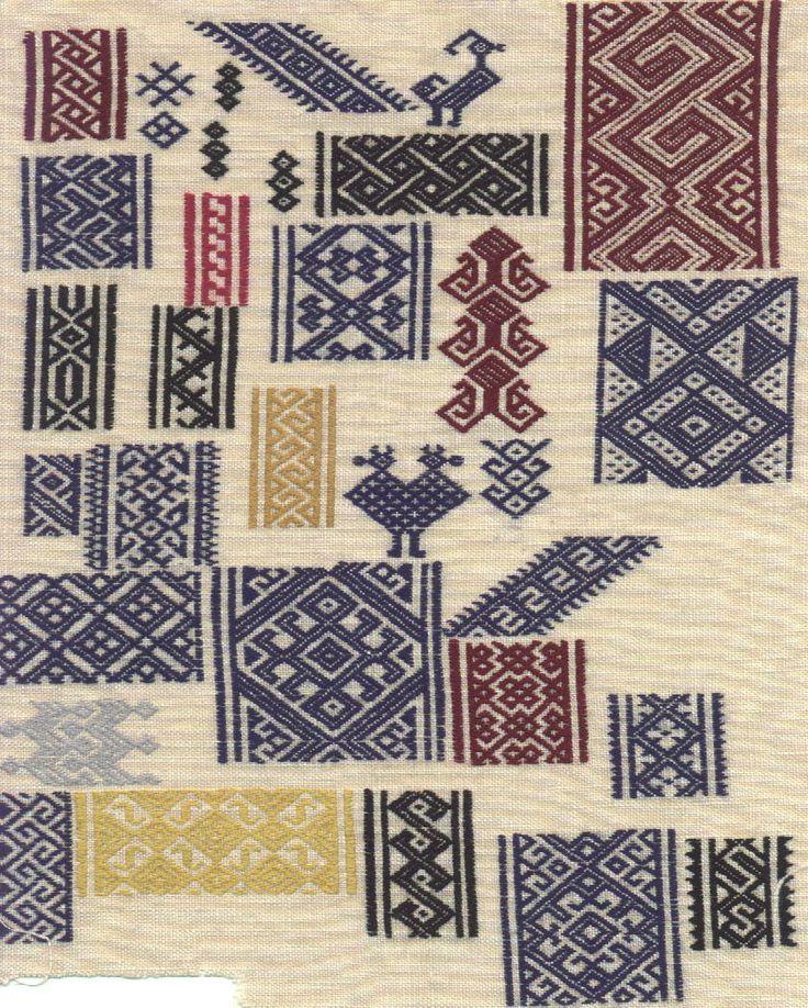 Mamluk-style pattern-darning sampler