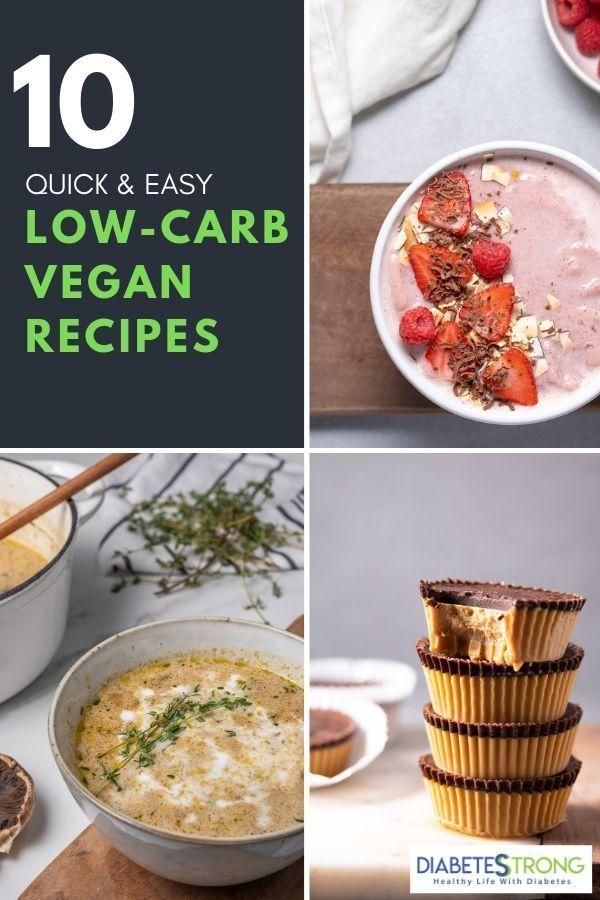 9 Low Carb Vegan Recipes Diabetes Friendly Low Carb Vegan