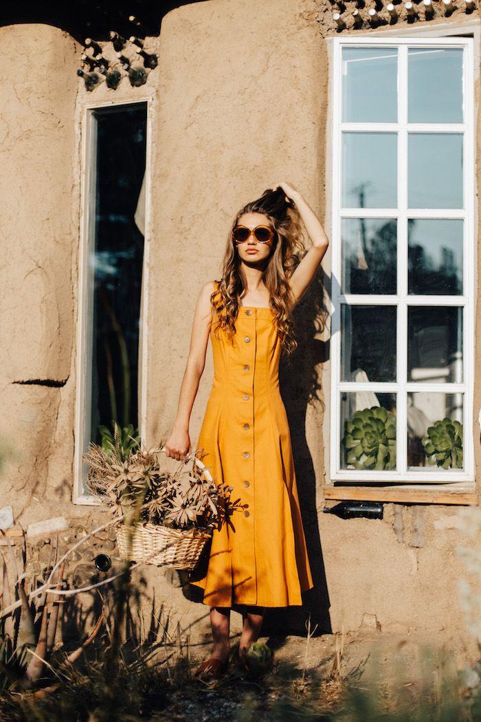 sustainably made dress. #sustainablefashion