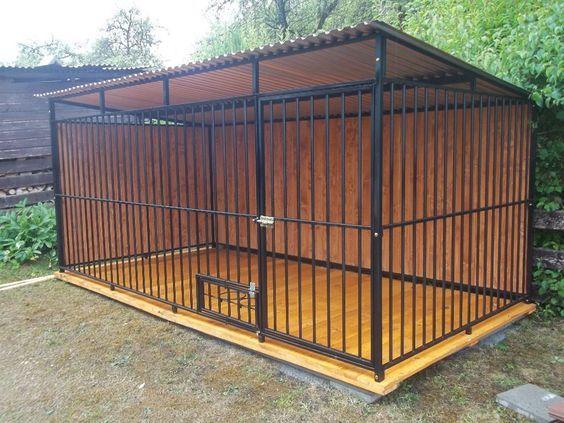 #Hundezwinger #Hundehütte #Hundekäfig #Hundeverschlag #Hundebucht 3 x 2m  || Abmessungen: Breite: 3m Länge: 2m Höhe des Vorderteils: 1,75m Höhe des Hinters: 1,55m   || Mehre Details auf unserer Seite! Klicke \BESUCHEN\ unten dem Foto.