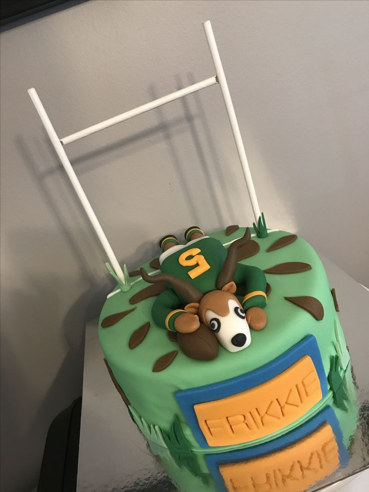 Cake Decorating Ideas Rugby : Best 25+ Rugby cake ideas on Pinterest Football cake ...