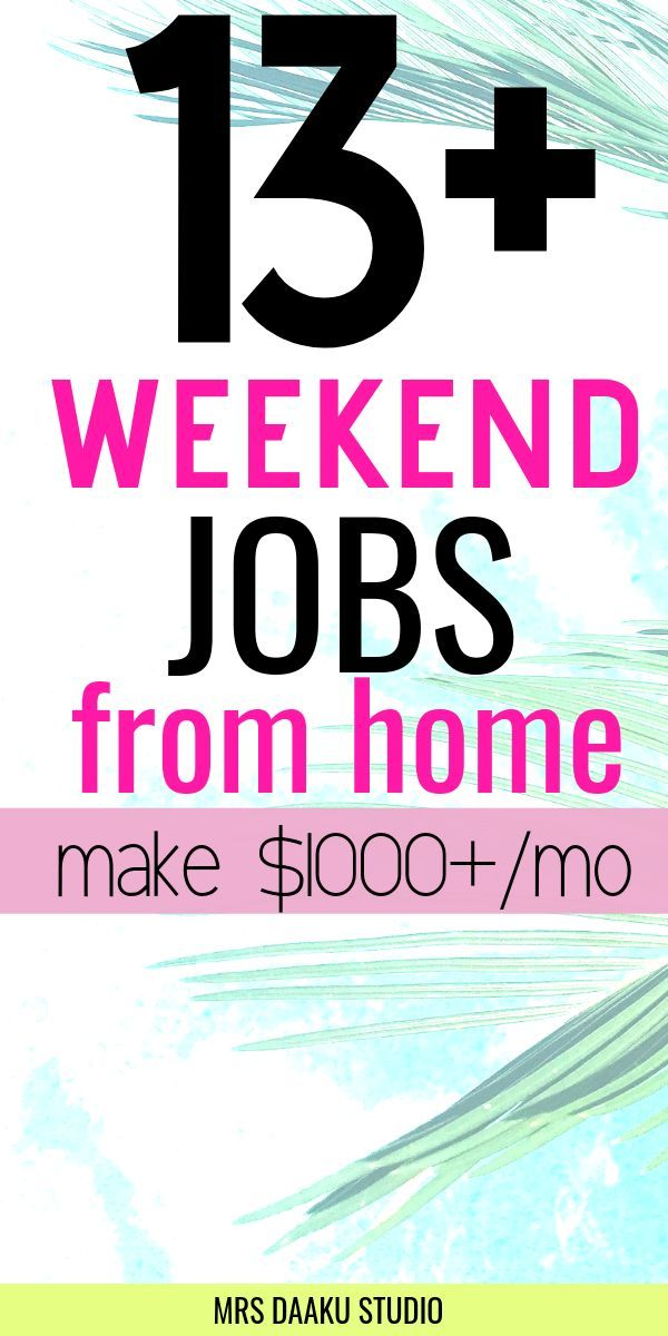 20+ best weekend jobs from home – Earn $1000+ monthly! – Become a Proofreader