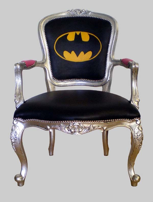 Batman Chair   Jimmie Martin Armchairs 9 Fresh And Urban One Off Chairs  From Jimmie Martin Design
